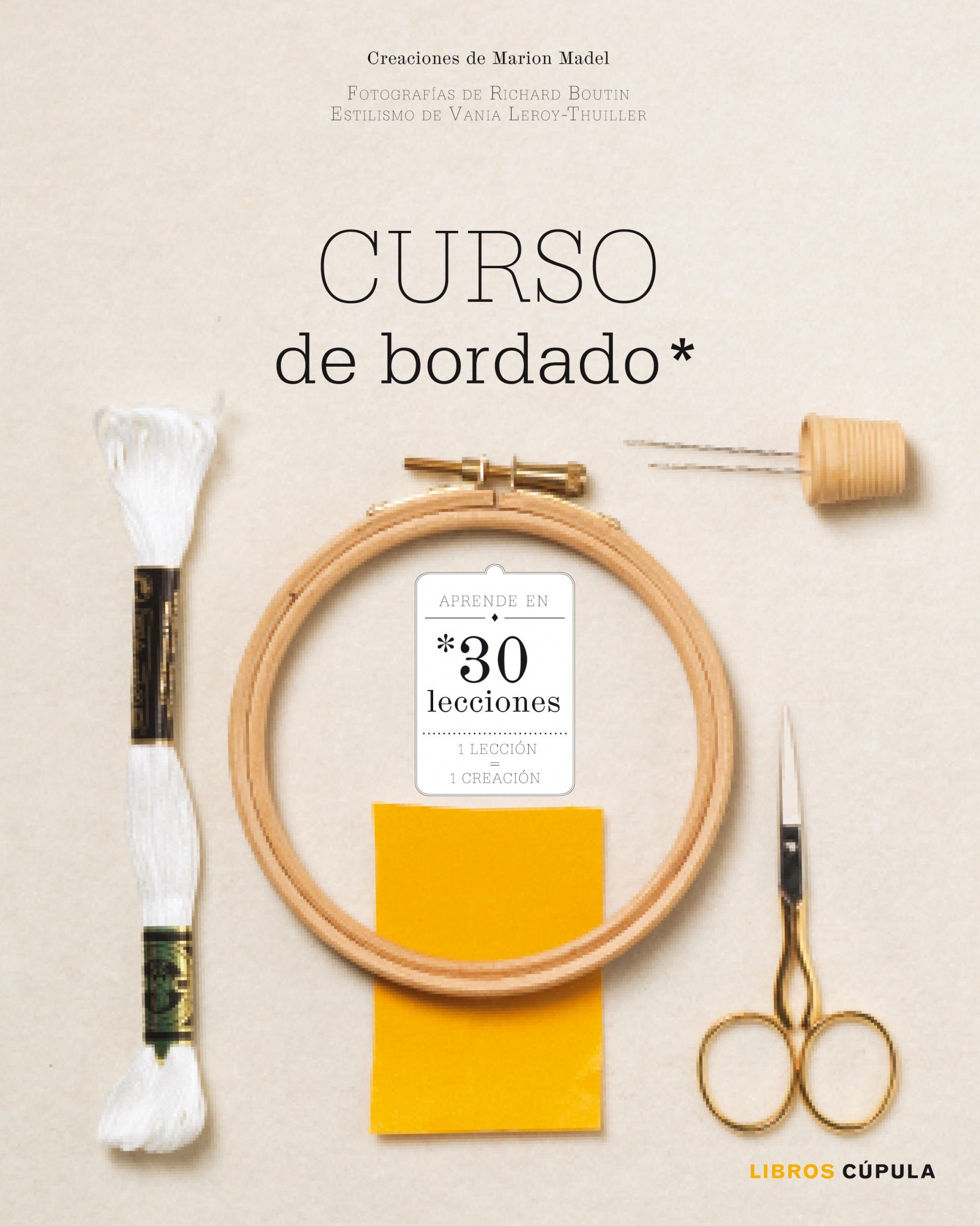 Curso de bordado: Aprende en 30 lecciones (Hobbies): Amazon.es ...