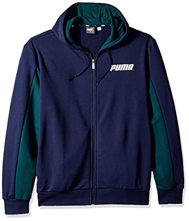 Amazon.com: PUMA Mens Rebel Hooded Jacket: Clothing