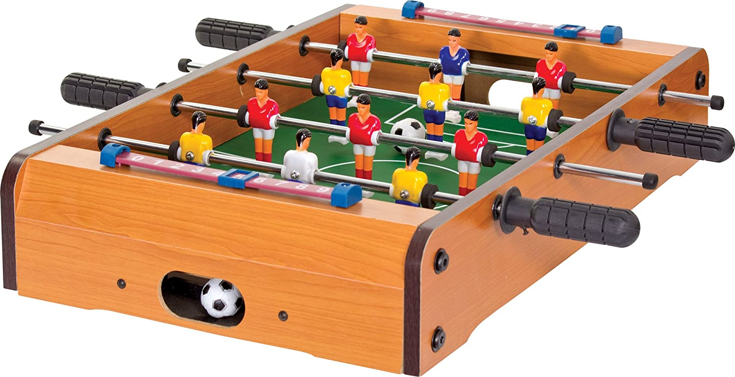 Tobar 10698 – Wooden Table Football Game Tobar Standard Products