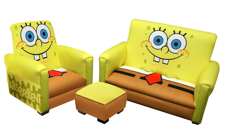 61d2cf9a34 Amazon.com   Nickelodeon Deluxe Toddler Sofa