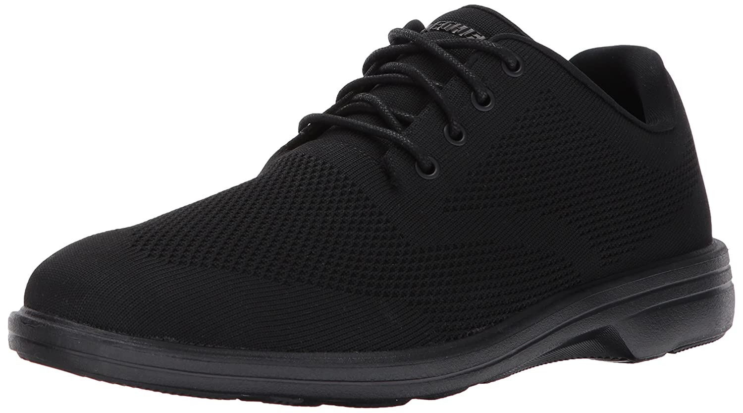 Details about Men's Skechers 65293BBK Walson Dolen Dress Shoes Black