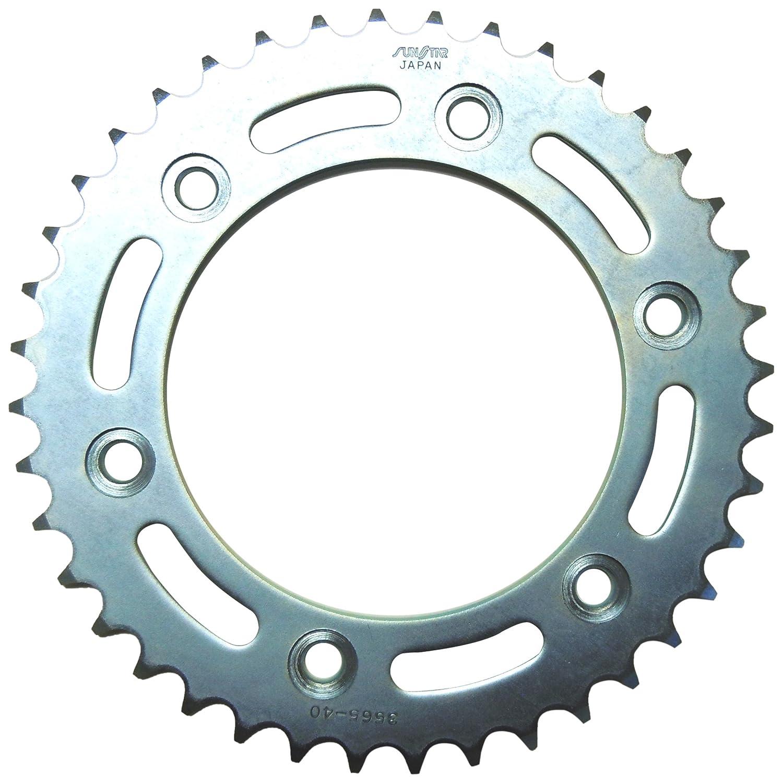 Sunstar Silver 2-356540 Rear Sprocket Steel 40T