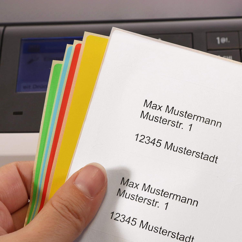 Labelident Sicherheitsetiketten Checkerboard-Effekt 64 x 38 mm permanent silber 2100 manipulationssichere Polyester-Etiketten auf 100 DIN A4 Bogen