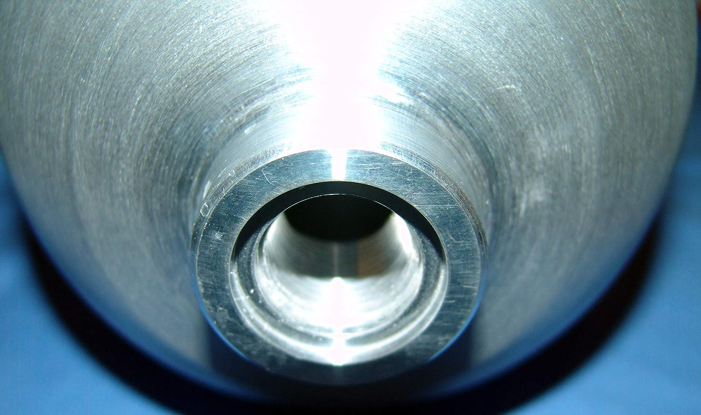 Aluminium Tauchflasche 5,7 Liter 40cuf ohne Ventil 200 bar