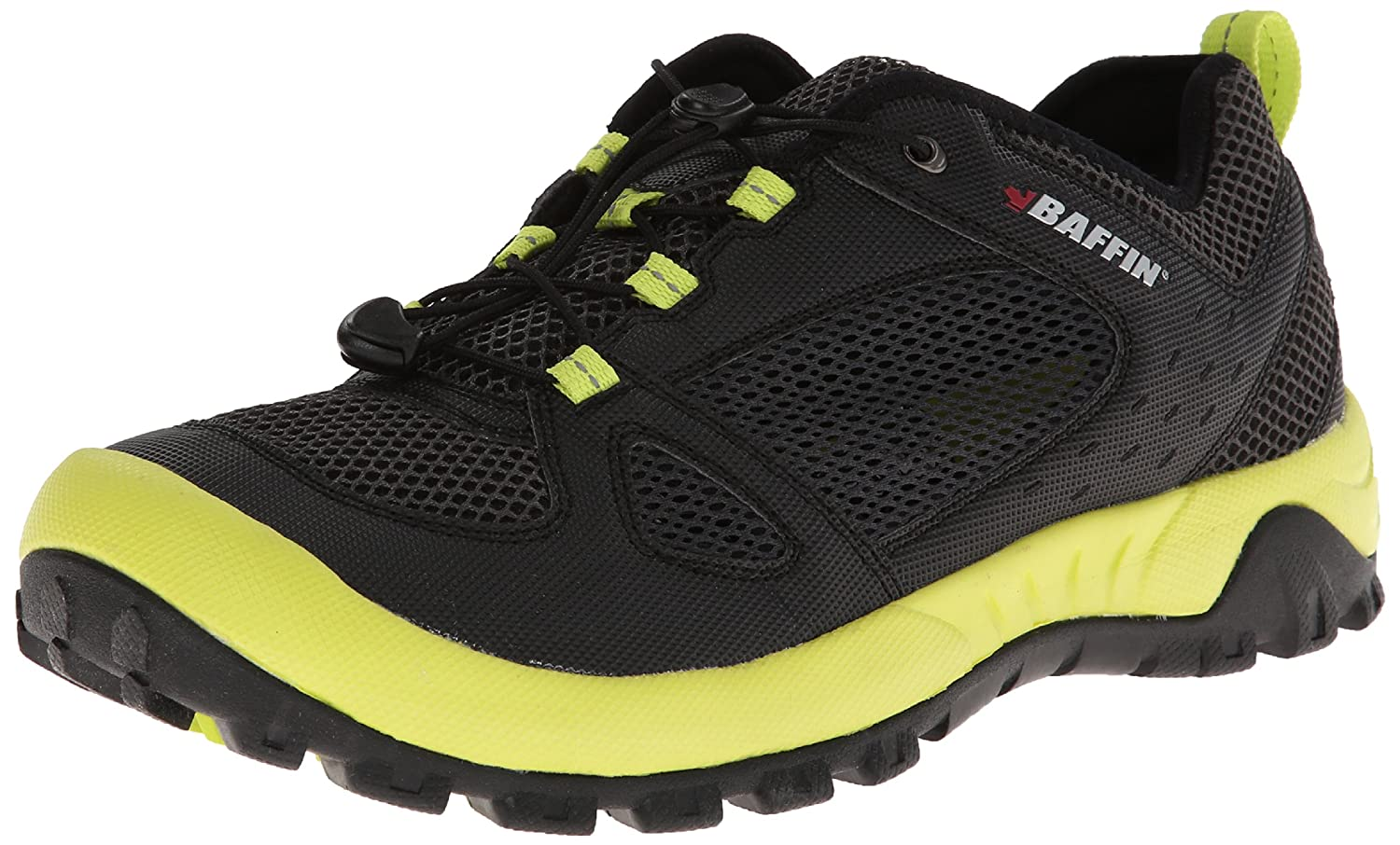 Baffin Men's Amazon Water Shoe B00973KL0A 12 D(M) US|Charcoal/Lime