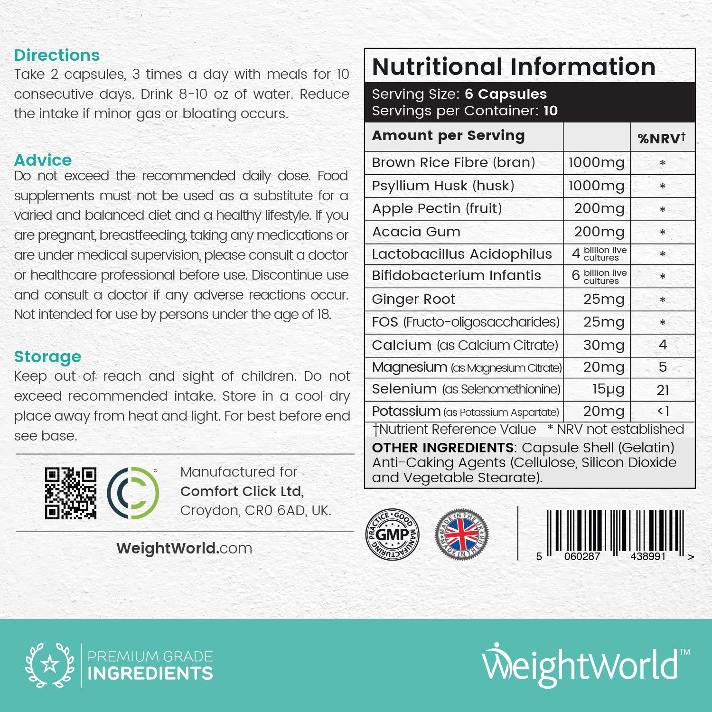 Limpiador De Colon 100% Natural Colon Cleanse Intensive - Tratamiento Detox Para Purificar El Organismo Y Limpiar El Sistema Digestivo - Limpieza De Colon ...
