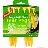 Coghlan's ABS Plastic Tent Pegs, 6-Inch