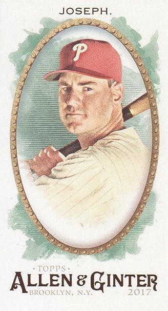 2017 Topps Allen   Ginter Baseball Mini  61 Tommy Joseph Philadelphia  Phillies c60ac7f58