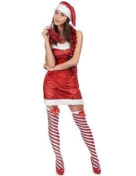 Disfraz de Mama Noel sexy: Amazon.es: Juguetes y juegos