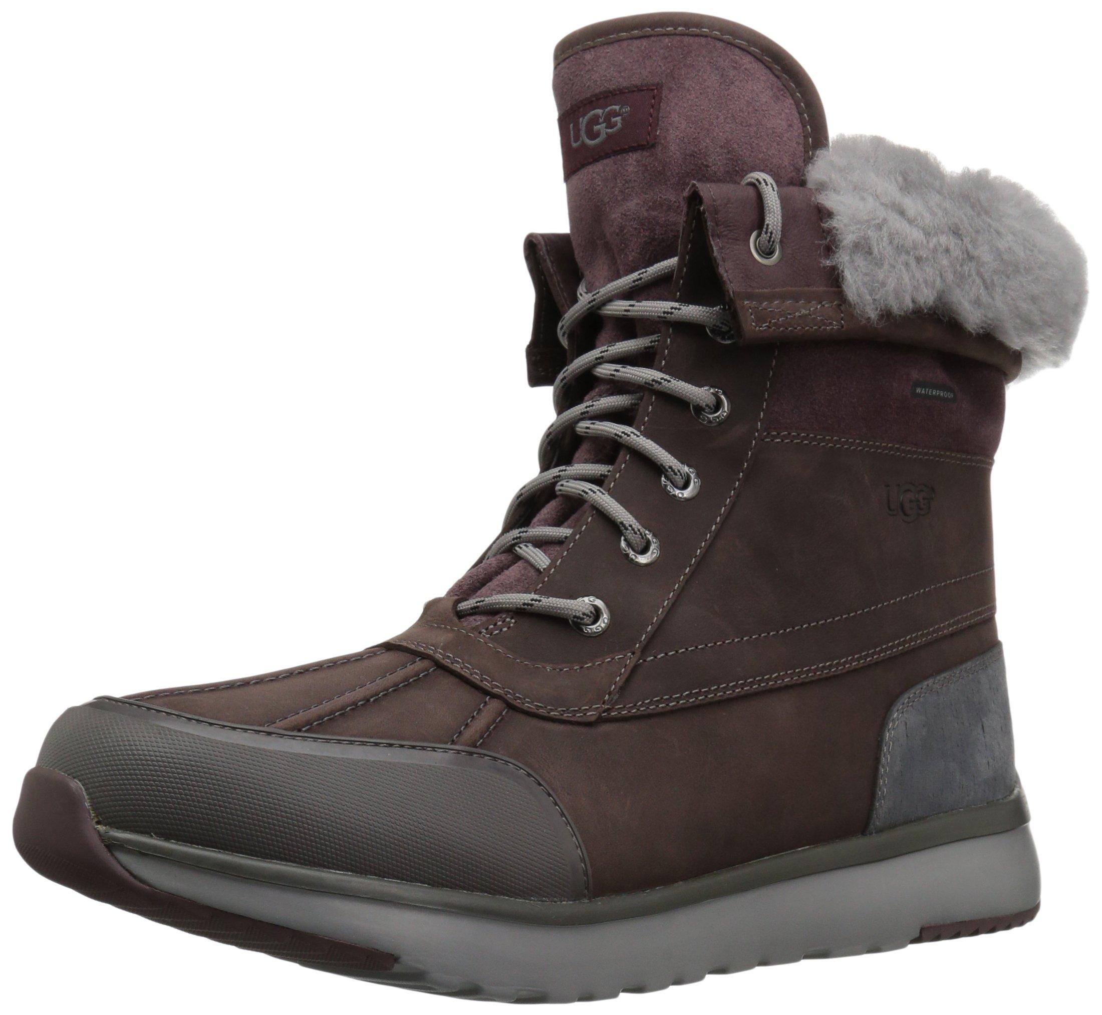 UGG Men's Eliasson Snow Boot, Cordovan, 18 M US