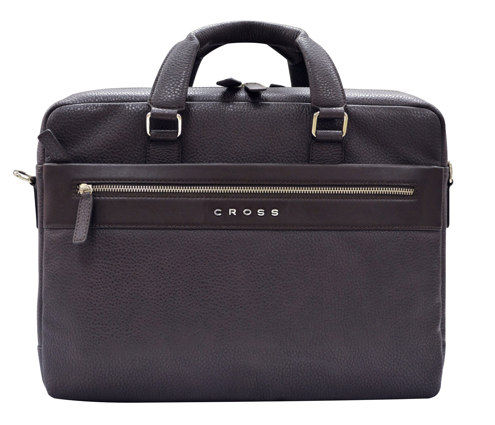 Cross Men's Nueva FV Leather Weekender Bag (Oak Brown)