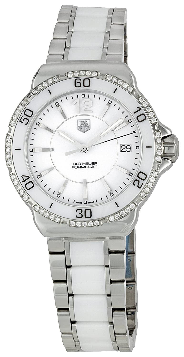 Tag Heuer Women S Wah1213 Ba0861 Formula 1 Diamond Accented Stainless Steel Watch
