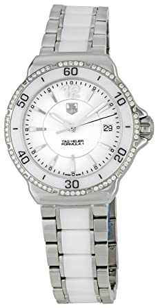 ae13f276083 Image Unavailable. Image not available for. Color: TAG Heuer Women's  WAH1213.BA0861 Formula 1 Diamond-Accented Stainless Steel Watch