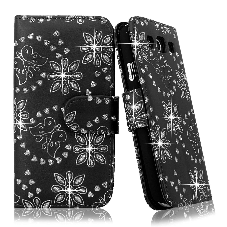 Samsung Case Cellularvilla Leather T Mobile Glitter Image 3