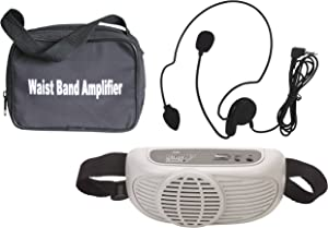 Audio2000'S AWP6202 Waist-Band Portable PA System with a Headset Microphone