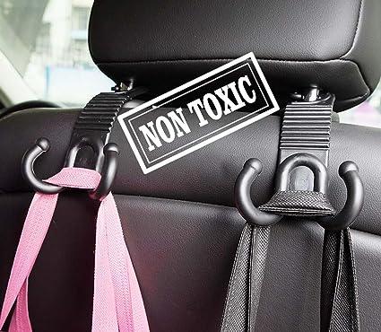 Car Seat Front Back Big Headrest Hooks