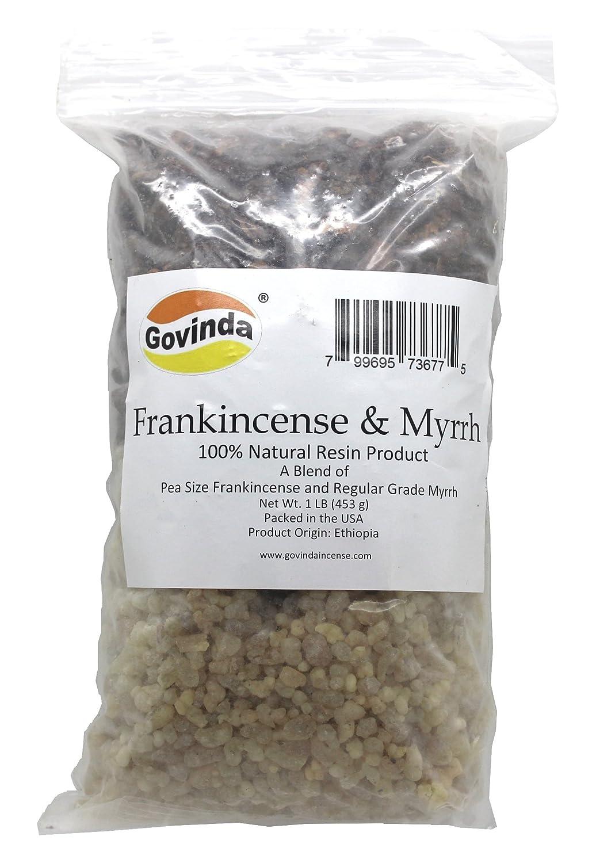 Govinda - Frankincense & Myrrh Resin Regular Grade - 0.5kg B01DUU2856