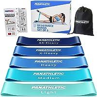 Panathletic Weerstandsbanden, Set van 5 Banden – 5 Verschillende Weerstandsniveau's, Handleiding met Oefeningen, eBook…