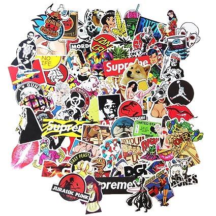 amazon com dreamergo cool graffiti stickers 200 pieces transparent