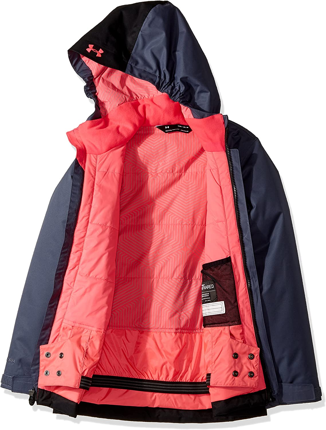 Under Armour Kids Womens PP Rideable Jacket Big Kids