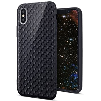 KunyFond Funda Compatible iPhone X,Carcasa Soft Silicono TPU ...