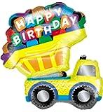 """Dump Truck Jumbo 33"""" Foil Balloon"""