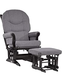 Dutailier Sleigh 0374 Glider Multiposition-Lock Recline with Ottoman Included