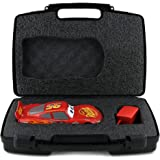 Life Made Better Toy Storage Organizer - Ultimate Sphero Ultimate Lightning McQueen And Accessories Case - Durable Carrying Case - Black