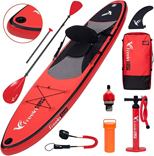 Blow Up Inflatable Red Paddle Board iSUP [Freein] Picture