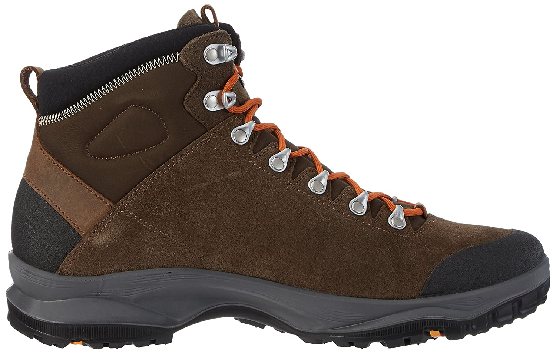 AKU Unisex-Erwachsene LA Val Plus Trekking-& Wanderschuhe, Braun (Dark Brown), 44.5 EU