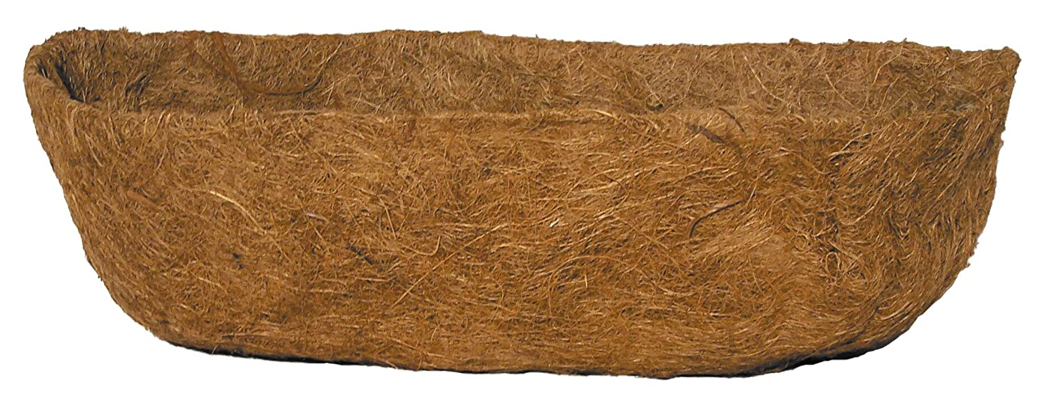 Bosmere 24' Pre-Formed Replacement Coco Liner with Soil Moist for Window Basket F916