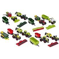 TOYLAND® Paquete de 6 Juegos de Tractores e