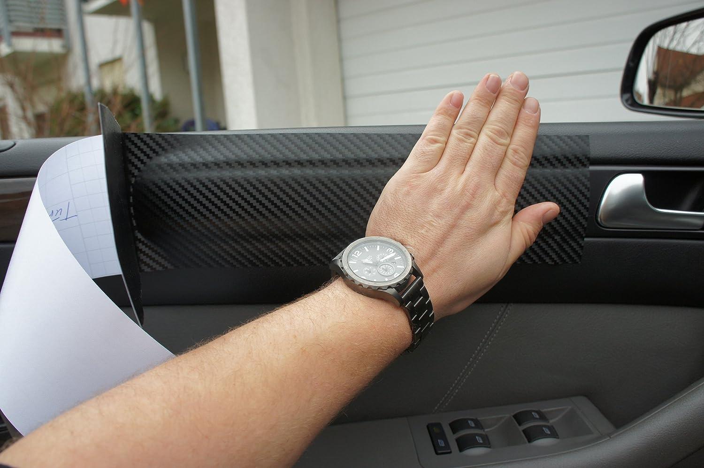VECTRA C ORIGINAL 3D CARBON ZIERLEISTEN SET 15 teiliges Folienset aus 3D Carbon Schwarz Folie f/ür den Innenraum Ihres Fahrzeuges VECTRA C