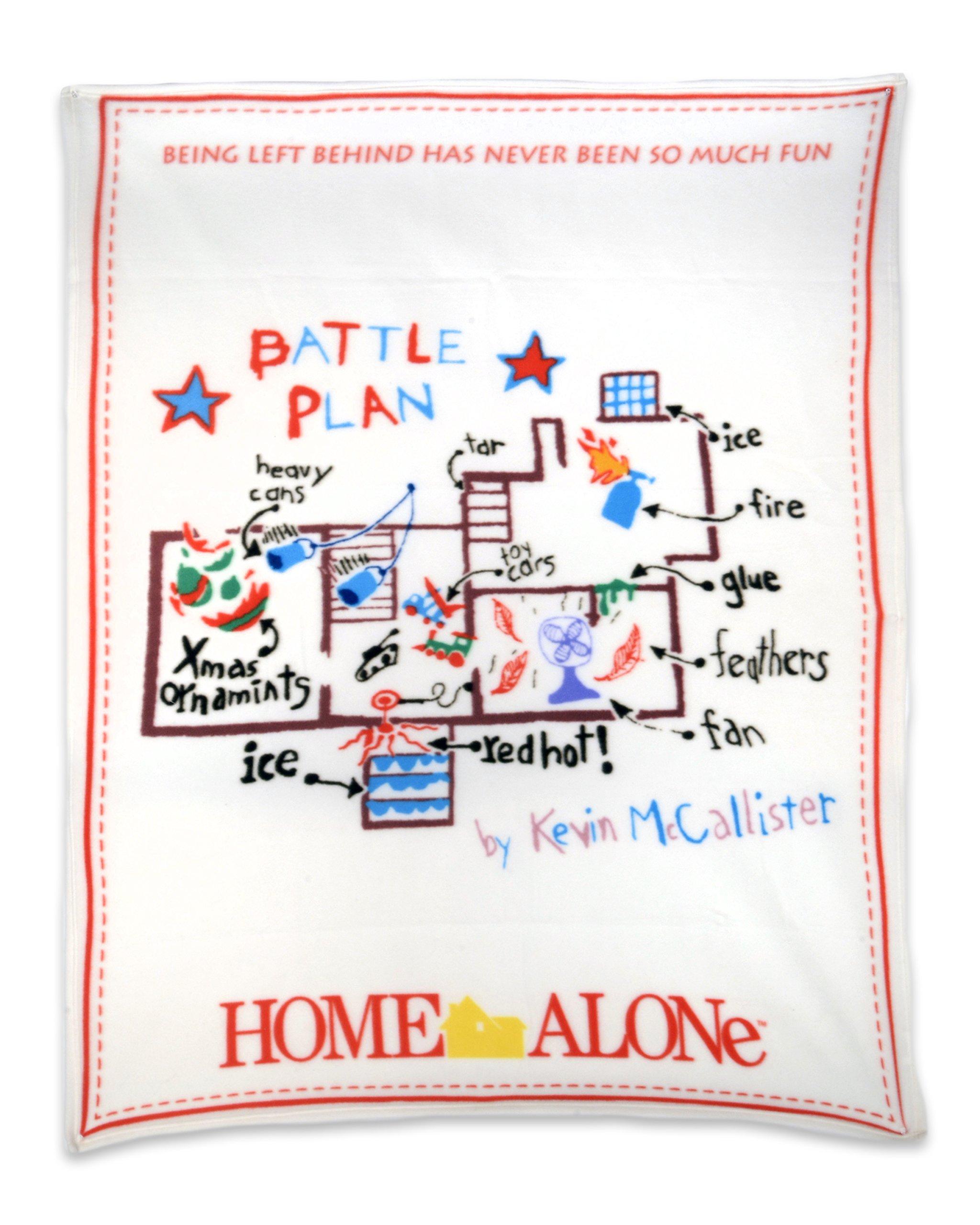 NECA Home Alone Fleece Throw Battle Plan Fleece Blanket