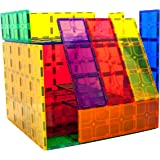 "PicassoTiles 28 Piece 12""x9"", 12""x3"", 9""x3"" Large Stabilizer Building Block Base 28pc Jumbo XL Plate Foundation Kit Magnetic"