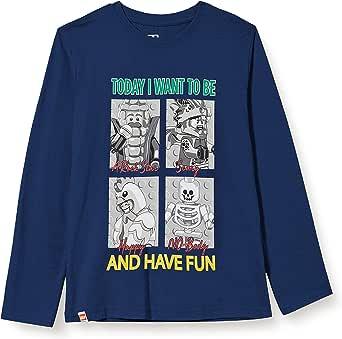 LEGO Mwd-Langarmshirt Camiseta para Niños