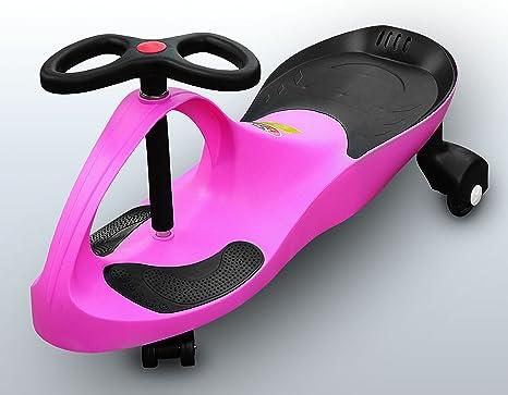 RIRICAR Pink - Bicicleta sin pedales para niños, Coche correpasillos, Ruedas de poliuretano