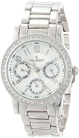 Amazon.com: Peugeot de la mujer 2937, Relojes de pulsera de ...