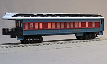Lionel Polar Express Observation Car W Snow On Roof