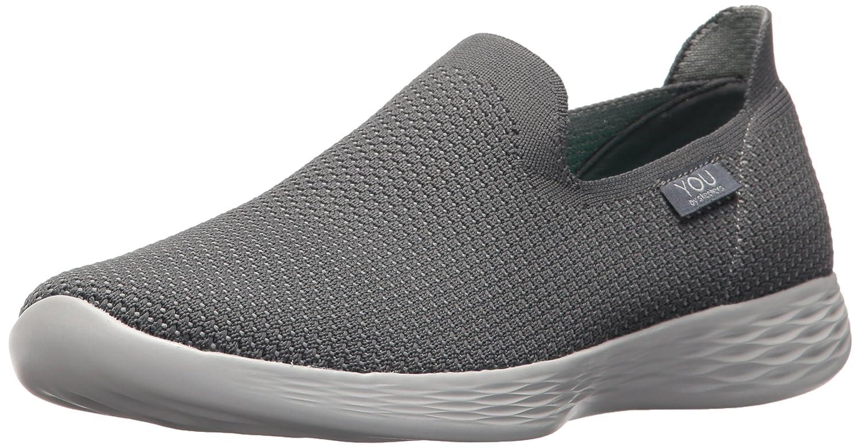 Skechers Women's You Define Sneaker B071K16SH8 6 B(M) US|Charcoal