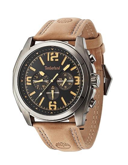 Timberland 14366JSU/02 - Reloj , correa de cuero color marrón