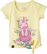 OFFCORSS Toddler Girl Stylish Colored Tshirts Camisetas De Niñas Franelas