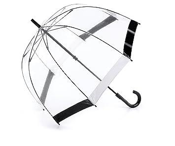 8378e63ded0cc Fulton Birdcage 1 Umbrella Black & White Trim: Amazon.co.uk: Luggage