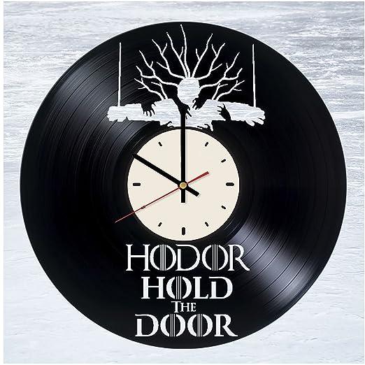 WallHandmadeDecor House Stark - Reloj de Vinilo con diseño ...
