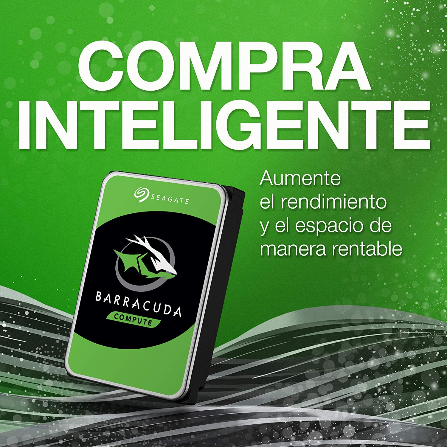 Seagate BarraCuda, 4TB, Unidad de disco duro interna, HDD, 3,5 in ...