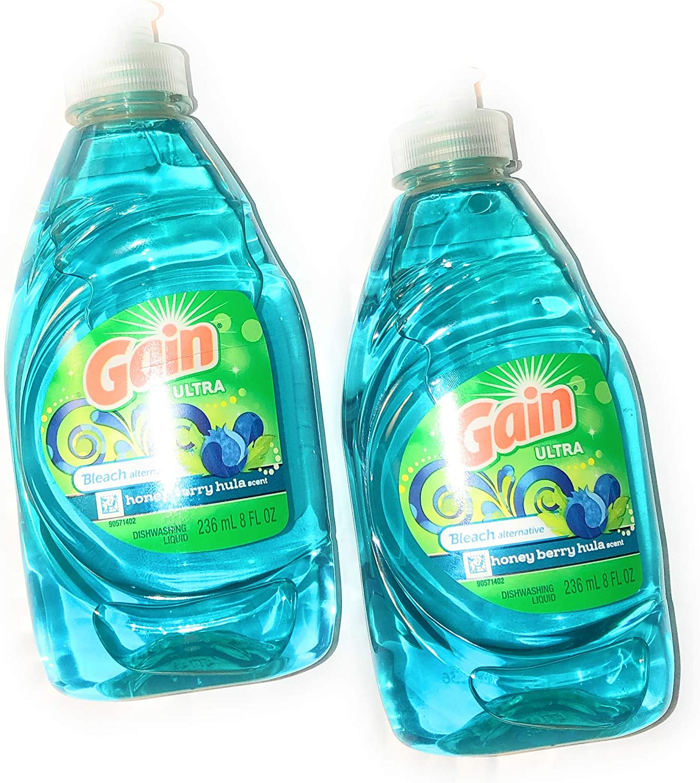 Gain Ultra Bleach Alternitive, Two 7 fl oz Bottles