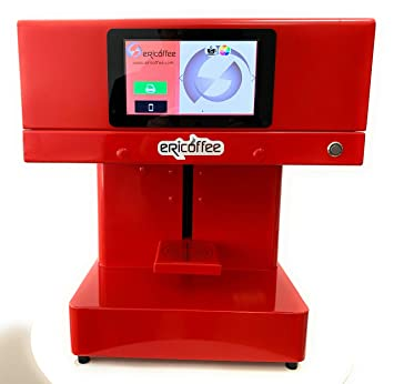 Impresora ERICOFFEE DE Espuma DE Cafe O Cerveza Y Otros Alimentos ...