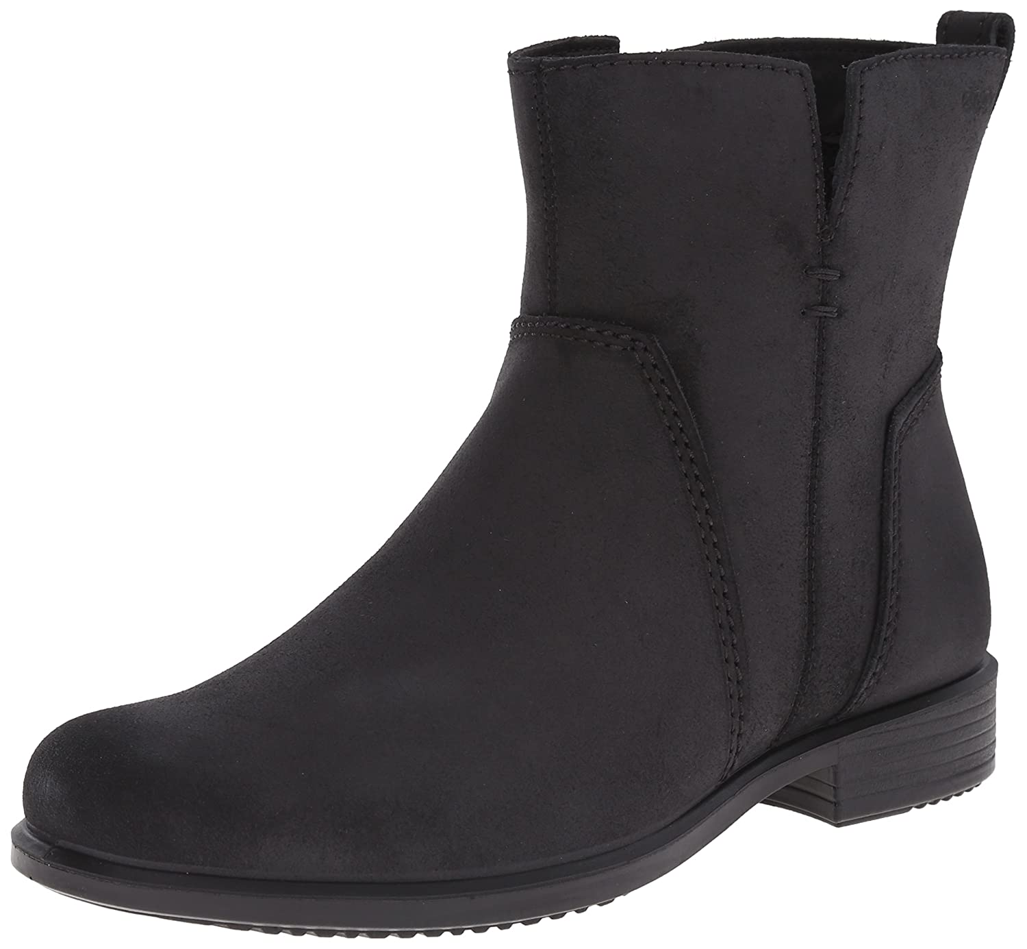 Black ECCO shoes Women's Touch 25 B Oil Suede Casual Boot