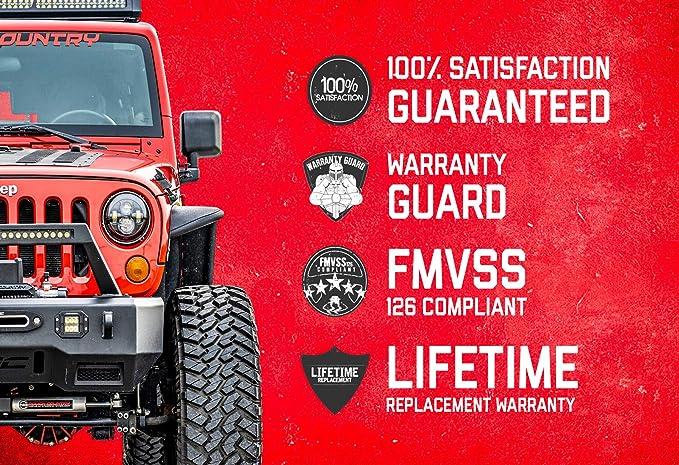 2007-2018 Jeep Wrangler JK fits Rough Country Rear Track Bar Bracket