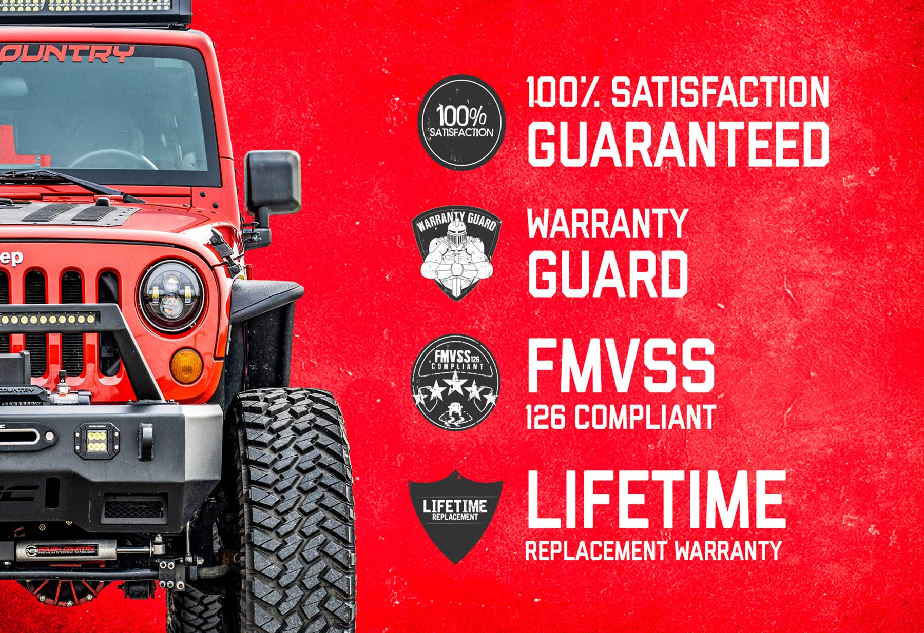 Waverspeed 3 Lift Leveling Kits for Jeep Grand Cherokee WK 4WD//2WD 2005-2010 Jeep Commander XK 4WD//2WD 2006-2010